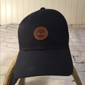 Timberland Leather Emblem Hat